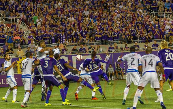 Orlando City Soccer FC vs Montreal Impact , Citrus Bowl Orlando, Florida Oct. 3rd 2015